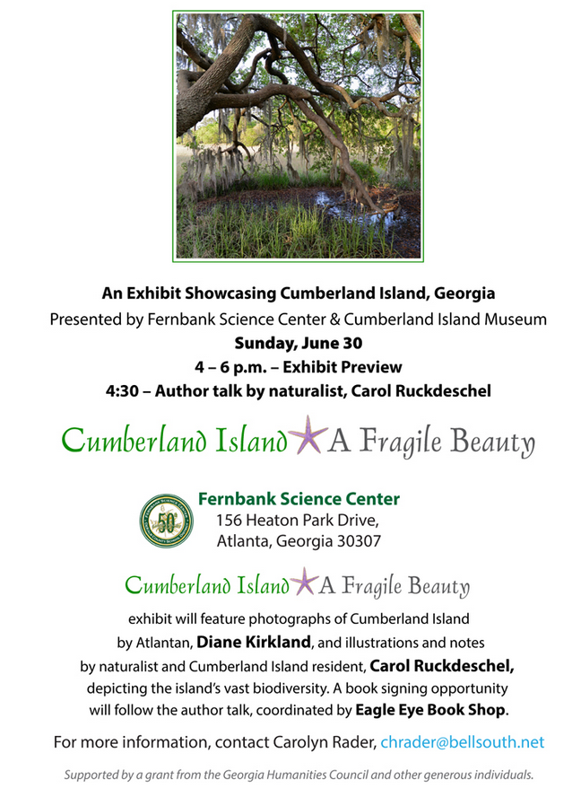 Information about June 30, 2019 event at Fernbank Science Center in Atlanta, 4-6 p.m.
