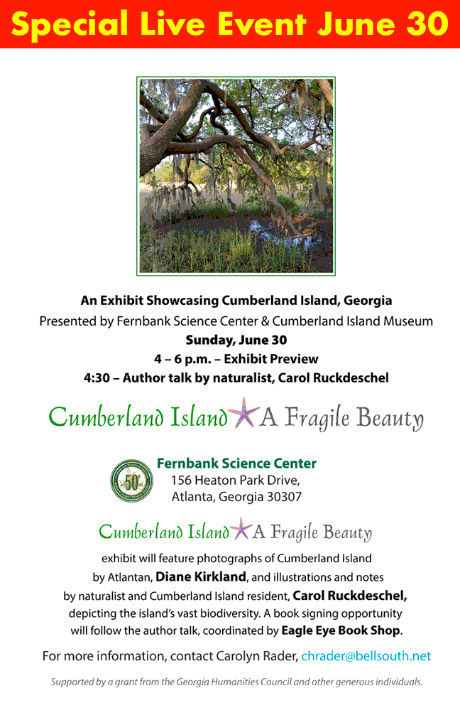 Info about June 30 event at Fernbank Science Center